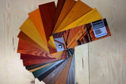 Выбор цвета и материалов