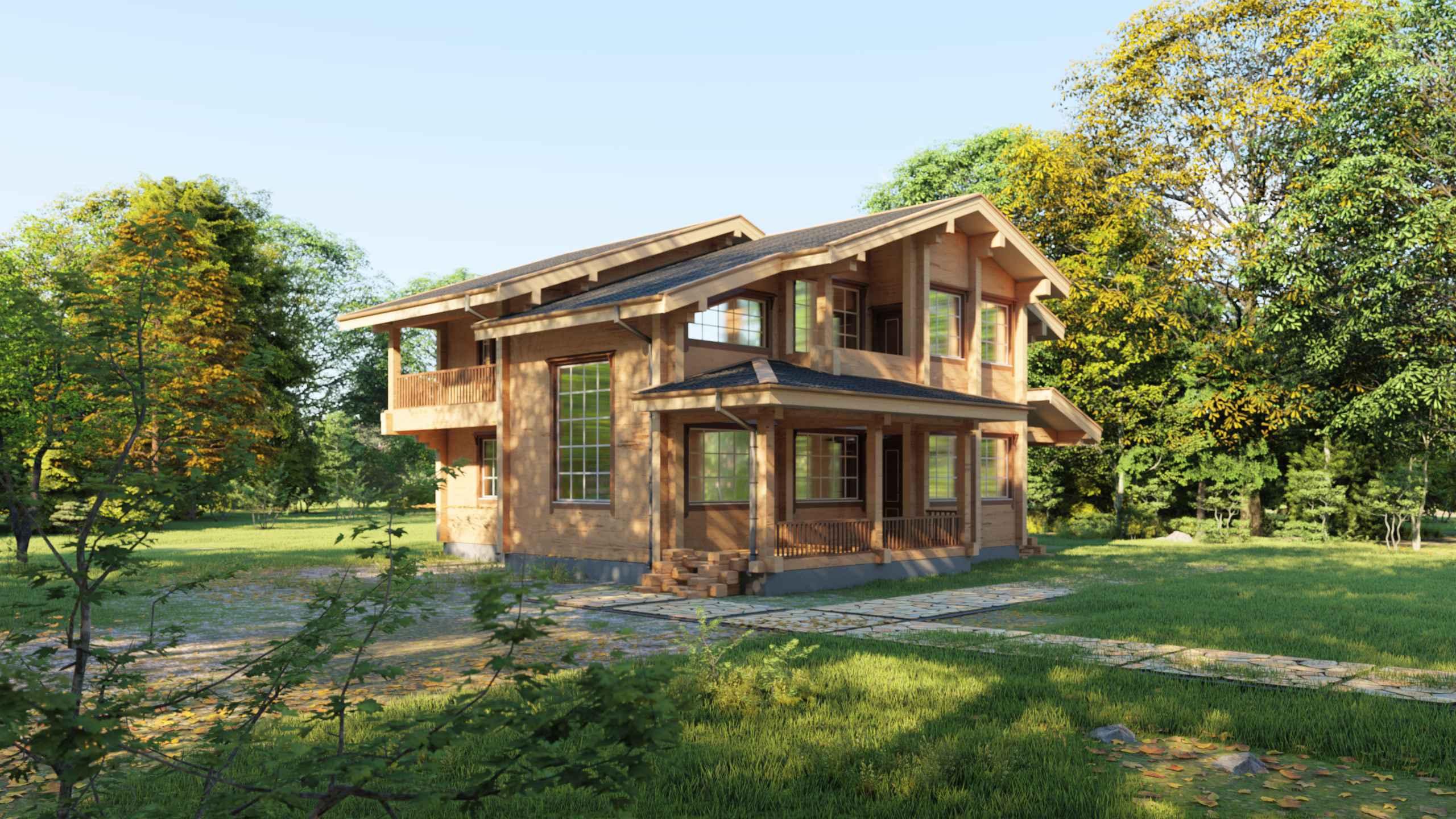 Проект дома Берген