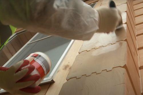 Защита торцевых поверхностей древесины
